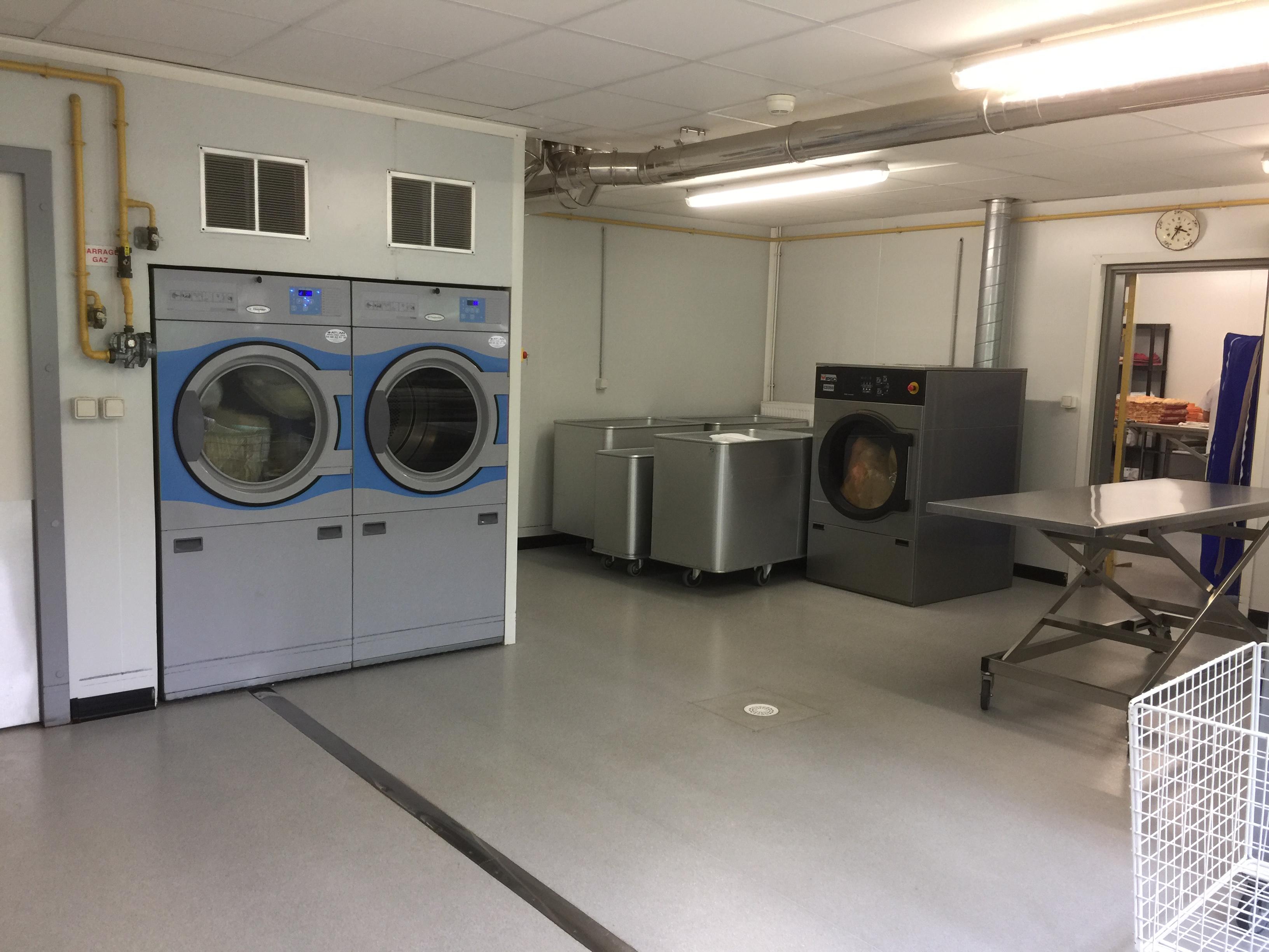 Salle de linge propre