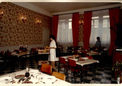 Ancien restaurant