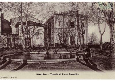 Temple et Place Roussille